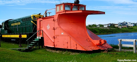 One of the last vestiges of the Newfoundland Railway that ran from 1898 to 1988