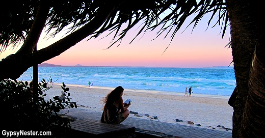 The beach in Noosa, Queensland, Australia