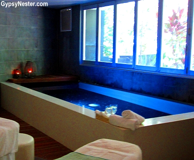 Floation Therapy at Stephanies Ocean Spa in Noosa, Queensland, Australia
