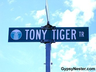 Tony Tiger Trail, Battle Creek, Michigan