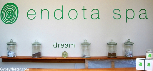 Endota Spa at the base of Peppers Hotel in Gold Coast, Queensland, Australia