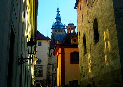Inside the Prague Castle Walls
