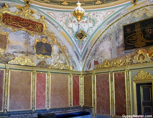 The Topkapı Palace in Istanbul