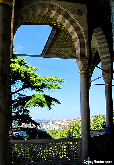 The view of Istanbul from Topkapi Palace