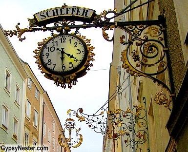 Wrought iron Guild Signs, Salzburg, Austria