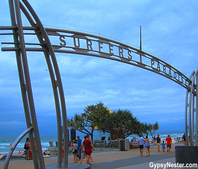 Surfers Paradise in Gold Coast, Queensland, Australia