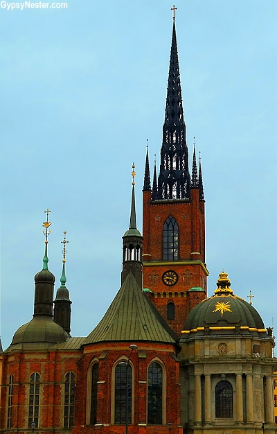 Stockholm Cathedral in Sweden