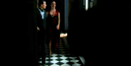 Backstage at Complejo Tango, Buenos Aires