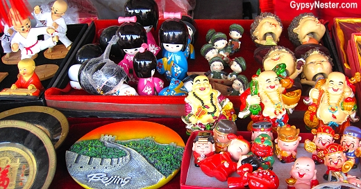 Souvenirs found at The Temple of Heaven in Beijing, China