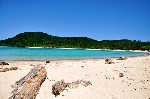 Cagayan Valley beach in the Philippines
