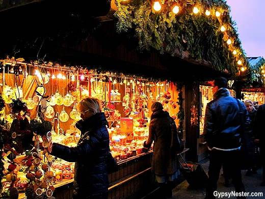 The Christmas Market in Vienna Austria