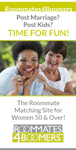 Roommates4Boomers helps find roommates for women over 50