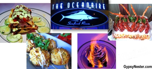 Save 10% at the Oceanaire Seafood Room with your AARP discount card