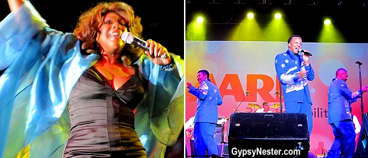 Mary Wilson and the Spinners took the stage at AARP's Life@50+ Expo