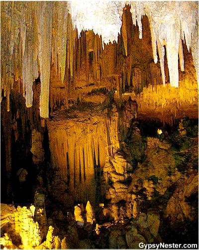 Neptune's Grotto, Sardinina, Italy in the town of Alghero