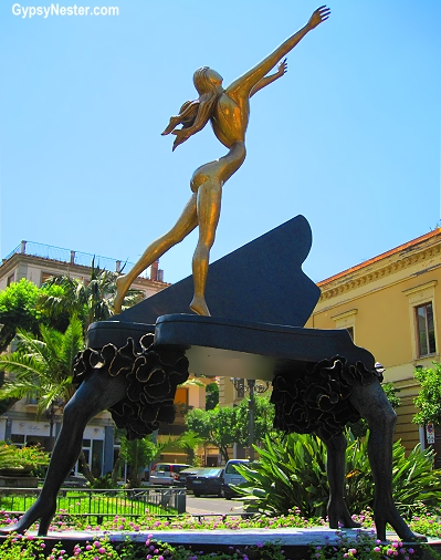 Salvadore Dali Universe in Sorrento, Italy