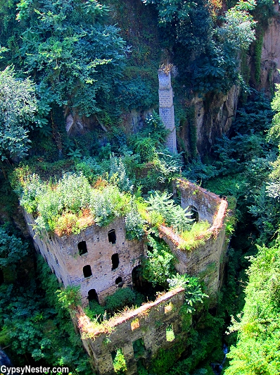 The Valley of the Mills in Sorrento, Italy