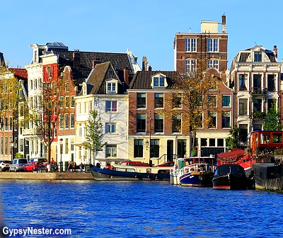 Amsterdam is a very water centric city