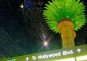 The Hollywood & Vine subway station