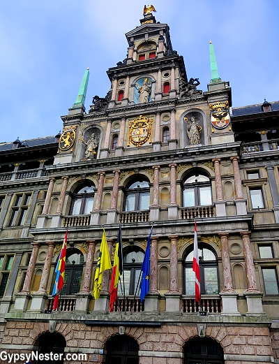 The City Hall of Antwerp, Belgium
