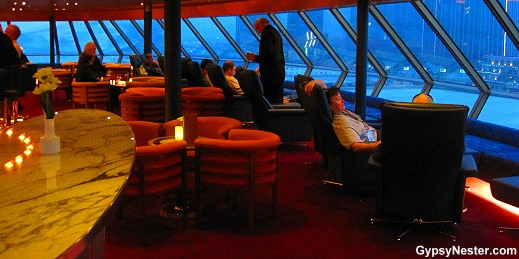 The Crow's Nest on Holland America's Volendam