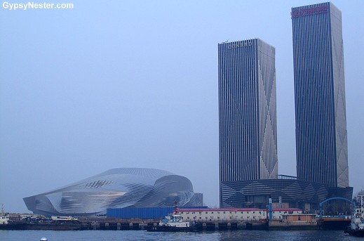 The waterfront in Dalian, China