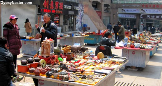 Antiques in Dalian, China