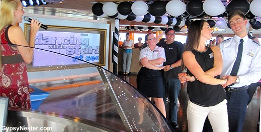 Dancing with the Stars aboard Holland America's Volendam