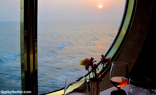 Dining aboard the Volendam