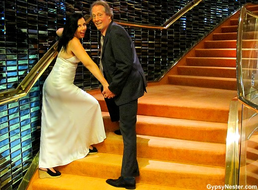 The GypsyNesters aboard Holland America's Volendam