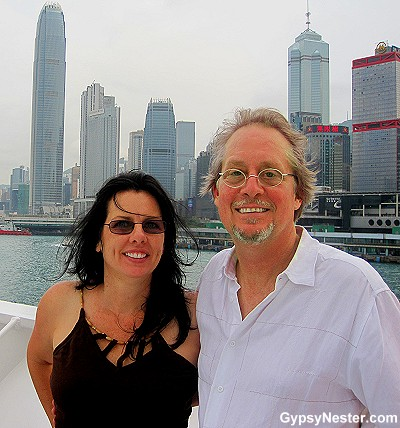 The GypsyNesters set sail from Hong Kong aboard Holland America's Volendam!
