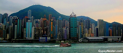 Hong Kong's skyline