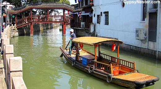 Zhujiajiao river town near Shanghai