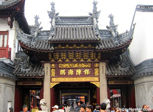 Shanghai China's Old City