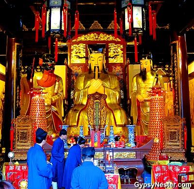 Taoist temple in Shanghai's Old City