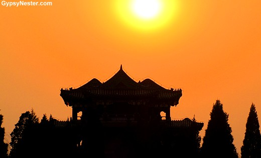 Sunset at The Summer Palace of Beijing, China