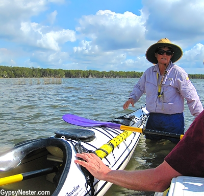 We joined former Australian kayaking champion Vivienne Golding, chief cook and bottle washer at Kanu Kapers, on an adventure into Great Sandy National Park.