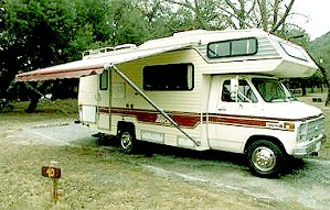 BAMF the RV. The GypsyNesters motorhome as talked about in Going Gypsy