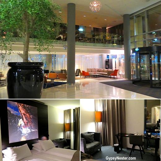 The sleek and stylishScandic Hotel Ørnen in Bergen, Norway