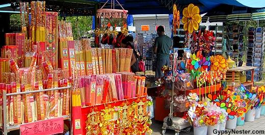 Gift shop at the Big Buddha in Hong Kong, China