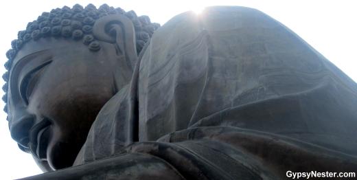 The Big Buddha of Hong Kong, China