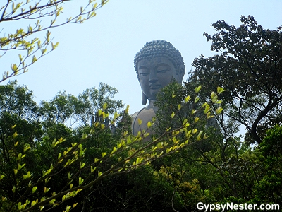 The Big Buddha, Tian Tan Buddha, of Tian Tan Buddha, Hong Kong, China
