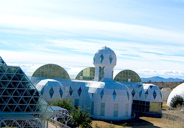 Biosphere 2 Outside Shot
