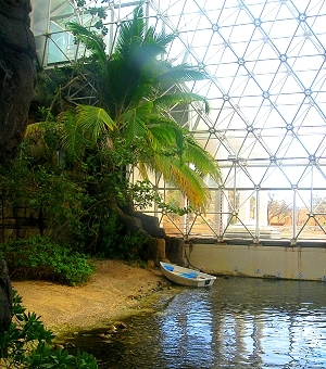 Ocean Biome in Biosphere 2