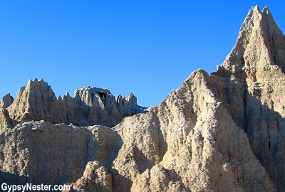Badlands National Monument in South Dakota