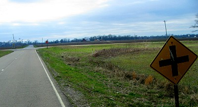 The crossroads near Lula Mississippi