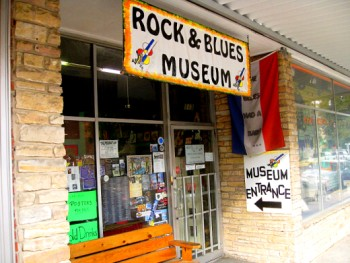 The Rock & Blues Museum, Clarksdale Mississippi