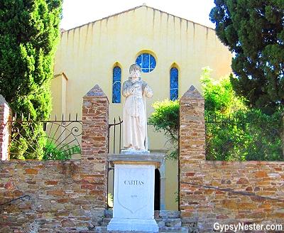 Chapel of Saint François de Paule in Bormes-les-Mimosas, Provence, France