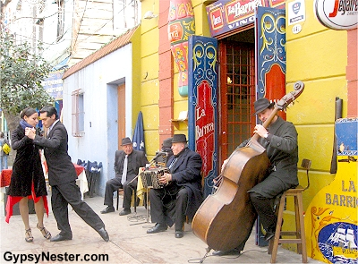 The neighboorhood of Boca in Buenos Aires, Argentina