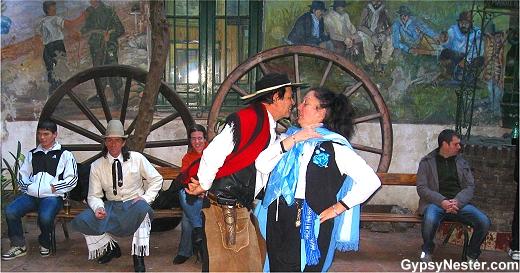 Dancing at Museo Criollo de los Corrales
